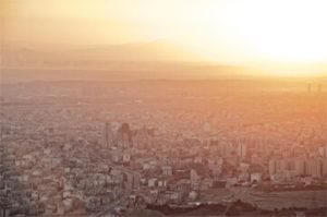 Corona in Teheran